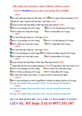 Bài tập Tiếng Anh Lớp 11 - Unit 2: Relationship - Hoàng Thị Xuân Hoa