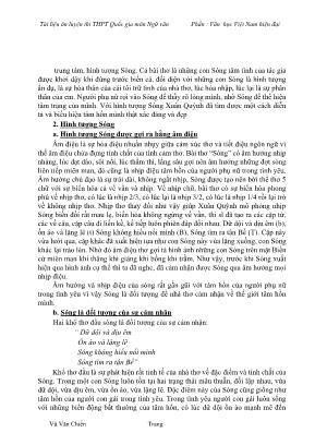 Tài liệu ôn luyện thi THPT quốc gia môn Ngữ văn - Phần Văn học Việt Nam hiện đại